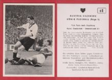 France v West Germany 1952 Marche Stade de Reims Rahn Rot Weiss Essen D8